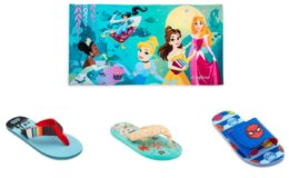 Disney Towels $10, Flip Flops Starting at $2.99