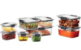 18 Piece Rubbermaid Brilliance Food Storage Container Set just $19.26