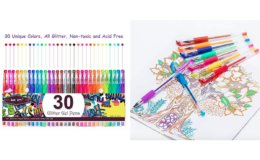 50% Off Aen Art Glitter Gel Pens Colored Fine Point Markers