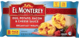 El Monterey Breakfast Wraps Recalled Due to Possible Contamination of Rocks