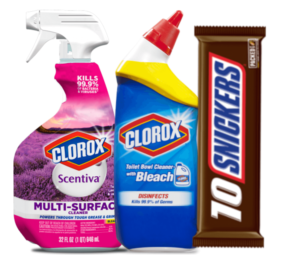 photograph relating to Clorox Printable Coupons referred to as Todays Ultimate Fresh new Discount coupons - Conserve upon Snickers, Clorox