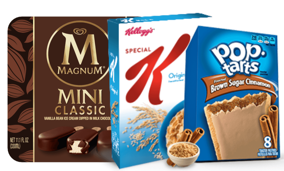 Save On Kellogg's, Magnum, Tena