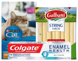 Today's Top New Coupons - Save on Purina, Galbani, Colgate & More