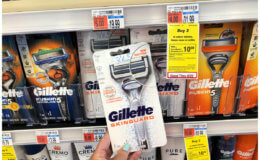 Money Maker + 2 FREE Gillette Men's Razors at CVS!