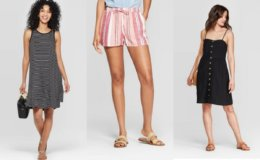 BOGO 50% off Women's Dresses, Shorts & Swim Suits at Target!