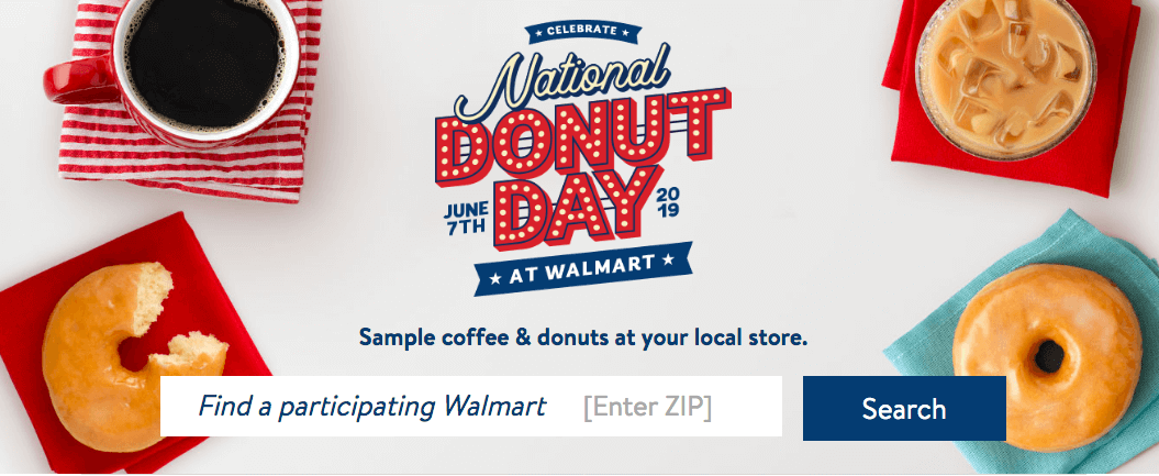 FREE DONUTS WALMART