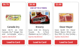 Over $96 in New ShopRite eCoupons - Save on Canada Dry, Brawny, Oscar Mayer & More