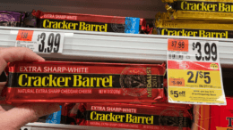 Cracker Barrel Chunk Cheese only $1.02 at Stop & Shop {6/28 - Rebate}