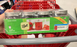 Ball Mason Jars 12-Pack Only $2.70 at Target! {Ibotta Rebate}
