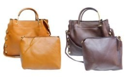 Handbag Sale at Barbados Leather! 2-Pc Set $22.99 Shipped! (Reg.$129.99)