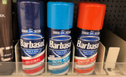 Barbasol Shaving Cream only $0.49 at Stop & Shop