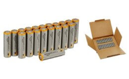 Stock Up Price! 50% off AmazonBasics AA 1.5 Volt Performance Alkaline Batteries - Pack of 20!