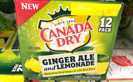 Diet Canada Dry Ginger Ale & Lemonade 12pks Just $0.58 at Acme! + FREE Snapple 64oz