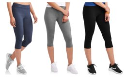 Athletic Works Women's Dri More Capri Core Legging $7 (Reg.$9.96) at Walmart!