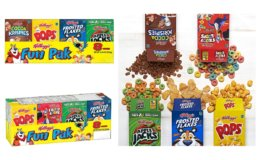 Stock Up Price! Buy More, Save More: Kellogg's Breakfast Cereal, Variety Fun Pack