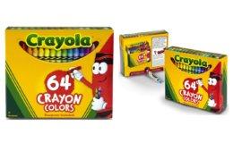 40% off Crayola 64 count Crayons on Amazon