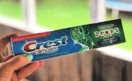 Crest Toothpaste and Oral B Toothbrushes as Low as FREE at CVS!