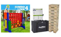 Giantville Outdoor Games 50% off on Amazon!
