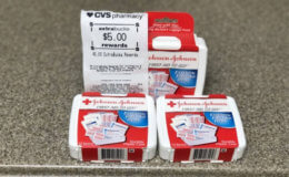 Johnson & Johnson First Aid to Go 12 Piece Kits Only $0.32 at CVS! {No Coupons Needed}