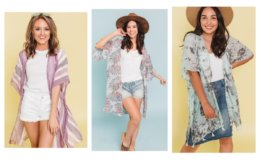 Kimonos 2 for $24 + FREE Shipping at Cents of Style!