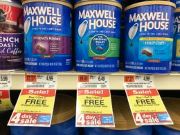 4 Days Only: Maxwell House Coffee Just $1.66 at Acme! {No Coupons Needed}