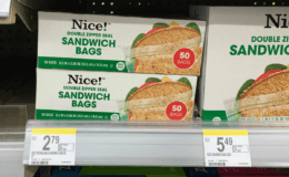 Nice! Sandwich, Freezer or Storage Bags Only $0.99 at Walgreens!