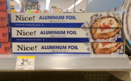 Smile & Save Paper Plates or Nice! Aluminum Foil Just $0.99 at Walgreens!