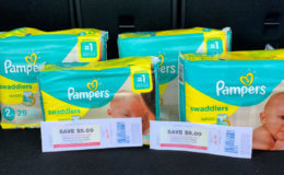ShopRite Shop From Home Deal - Over a $10 Money Maker on Pampers Diapers + More!