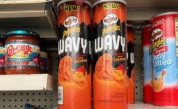 Dollar General Shoppers - $1 Pringles Wavy Super Stacks!