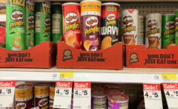 $0.90 Pringles Wavy Canisters at Target!