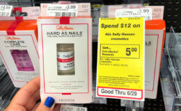Up to 3 FREE Sally Hansen Hard as Nails at CVS!