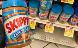 Skippy Peanut Butter 26.5-28oz as low as $2.95 at Stop & Shop