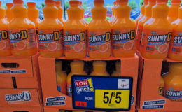 SunnyD only $0.50 at Stop & Shop