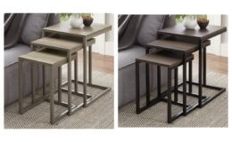 Nesting Accent Tables Set Of 3 $19.60 (Reg.$59) at Walmart!