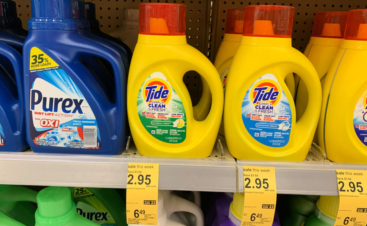Tide Simply Detergent Just 1 95 At Walgreens Living Rich