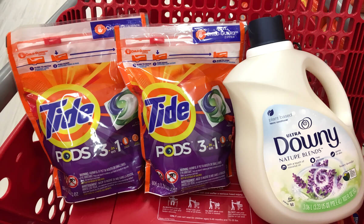 Tide PurClean Detergent & Downy Nature Blends Just $2 99 at