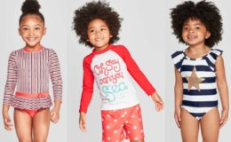 50% Off Cat & Jack Select Kid's Swimsuits + Extra 25% Off