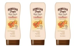 25% Off Coupon Hawaiian Tropic Sheer Touch Lotion Sunscreen
