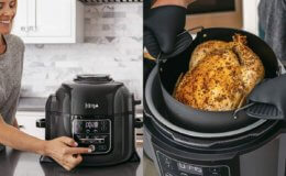Best Price! 40% Off Ninja Foodi Pressure Cooker, Steamer & Air Fryer 6.5 Quart