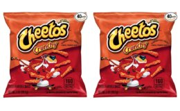 Stock Up Price + Coupon!  Cheetos Crunchy Cheese Flavored Snacks, 40 Count on Amazon!