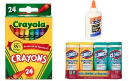 School Supply Deals at Office Depot/OfficeMax - Elmers Glue $.33, Crayola Crayons $.33 + More!