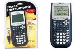 Texas Instruments TI-84 Plus Graphing Calculator $88 (Reg. $125)