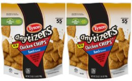 Save $3 on Tyson Any'tizers Chicken Chips + Great Walmart Deal! {Ibotta Rebate}