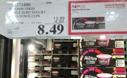 Costco: Hot Deal on Dannon Oikos Triple Zero Yogurt - $0.47 per cup!