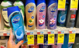 Dial Body Wash as Low as $0.50 at CVS!