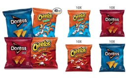 Stock Up Price + Coupon! Frito-Lay Doritos & Cheetos Mix Variety Pack, 40 Count on Amazon!
