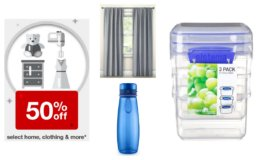 Target Deal Days: 50% off Select Home, Clothing & More - Sistema 1.70 cup 3pk Food Storage Container $2.99