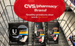 U by Kotex Pantiliners as Low as FREE at CVS! {Reg. $4.79!}