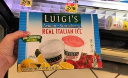Luigi's Italian Ices as low as $1 at Stop & Shop