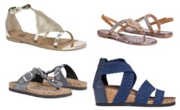 MUK LUKS Women's Sandals Blowout on Woot! All $14.99 Each!
